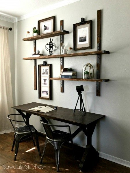 DIY Industrial Style Shelving with Simpson Strong-tie 4