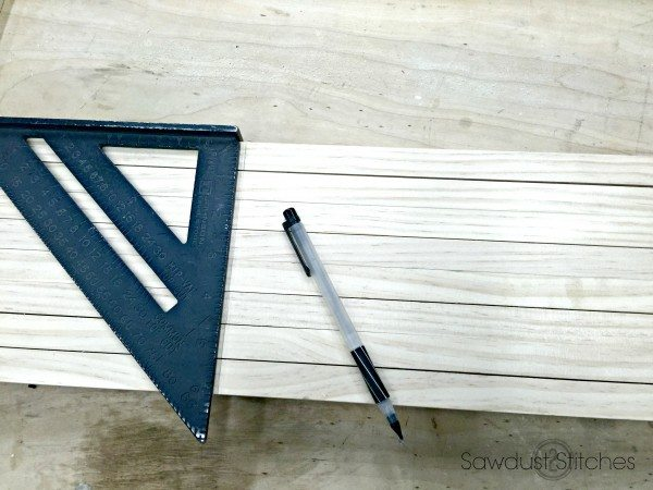 Make a wooden Doormat