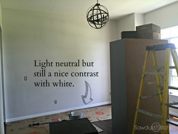 Light Neutral color schematics for whole house