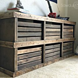 Pottery Barn Inspired Crate Dresser2 Sawdust2Stitches.com
