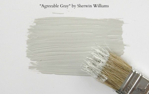 Sawdust2Stitches Agreeable Gray by Sherwin Williams use as part of a whole house color scheme.