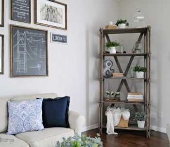Rustic Farmhouse Book Shelf