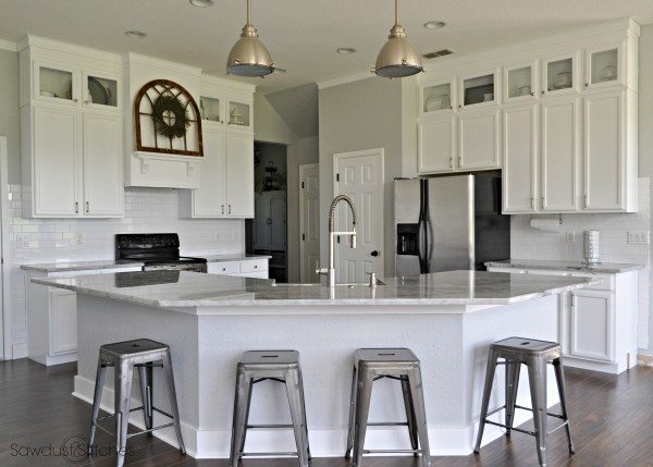 kitchen remodel with paint color