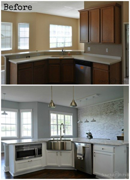 apron-sink-with-moen-kitchen-makeover
