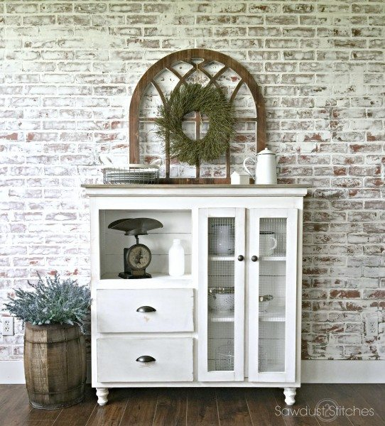 cabinet-makeover-into-kitchen-sideboard