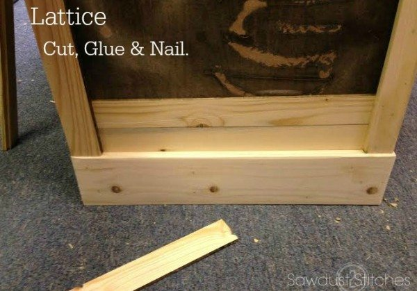 How to transform an Ikea console into a Pottery Barn Style Apothecary by Sawdust 2 Stitches 10