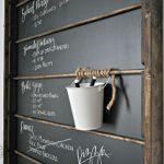 Chalkboard Organizer
