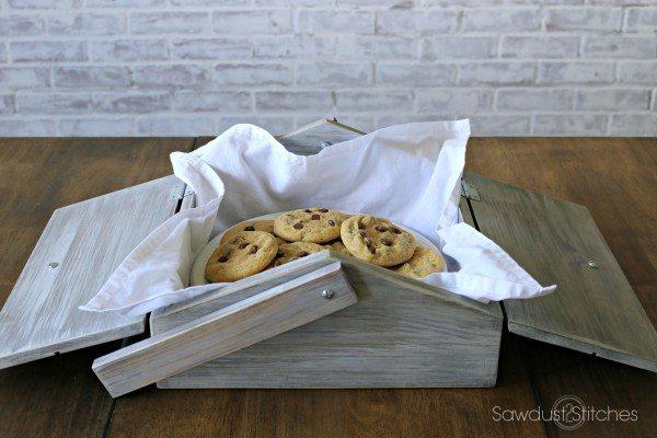 Dessert Carrier Pie Box Sawdust 2 Stitches