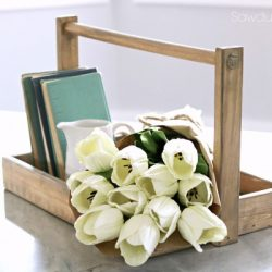diy Farmhouse Tray by Sawdust2Stitches.com