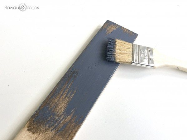 How to Chippy Paint Finish by sawdust2stitches.com 4