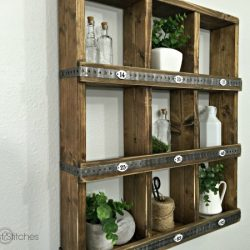 Rustic Wall Cubbies by Sawdust2stitches
