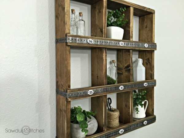 Rustic Wall Cubby