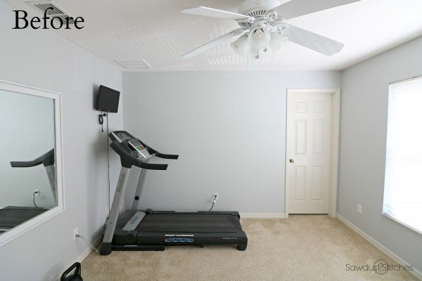 Home Gym Makeover Part:1