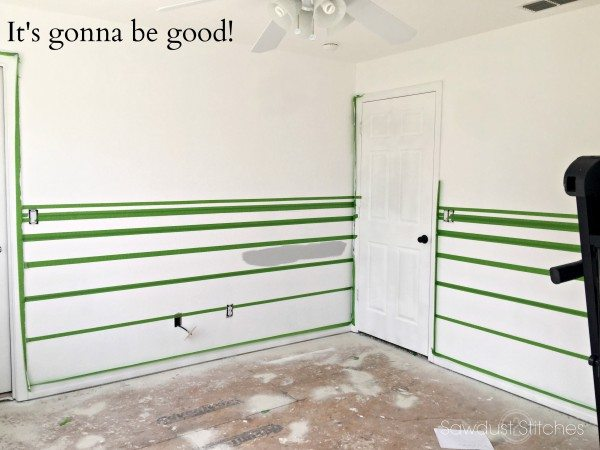 Home Gym Makeover Process by Sawdust 2 Stitches 5