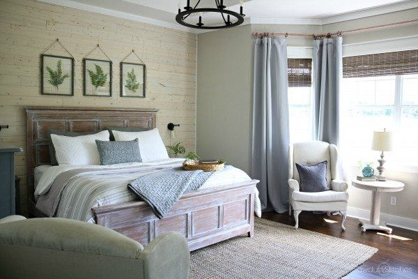 Bedroom Accent Wall Shiplap