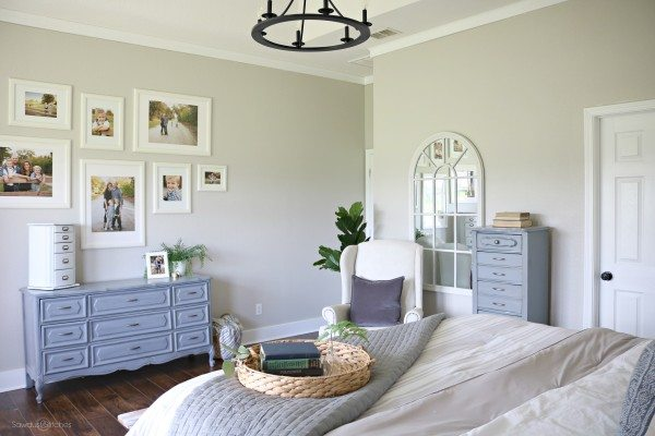 Master Bedroom Makeover - Sawdust 2 Stitches