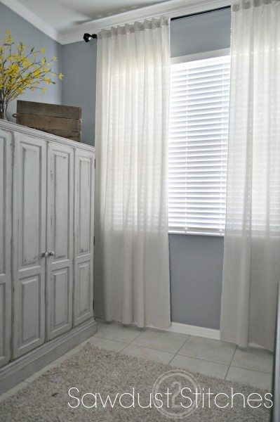 Cheap White Curtains Quick Cheap Amp Super Easy