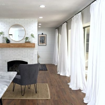 Cheap White Curtains