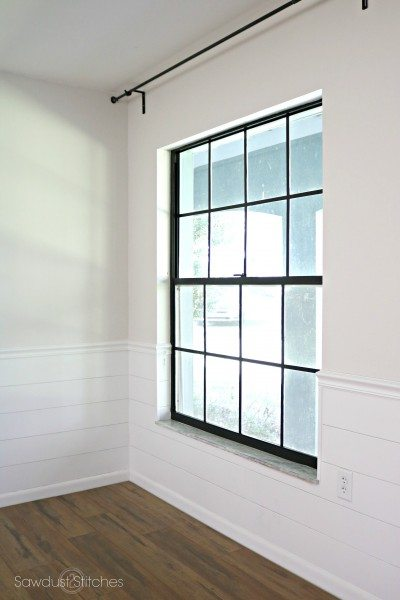 How To Paint Black Window Panes