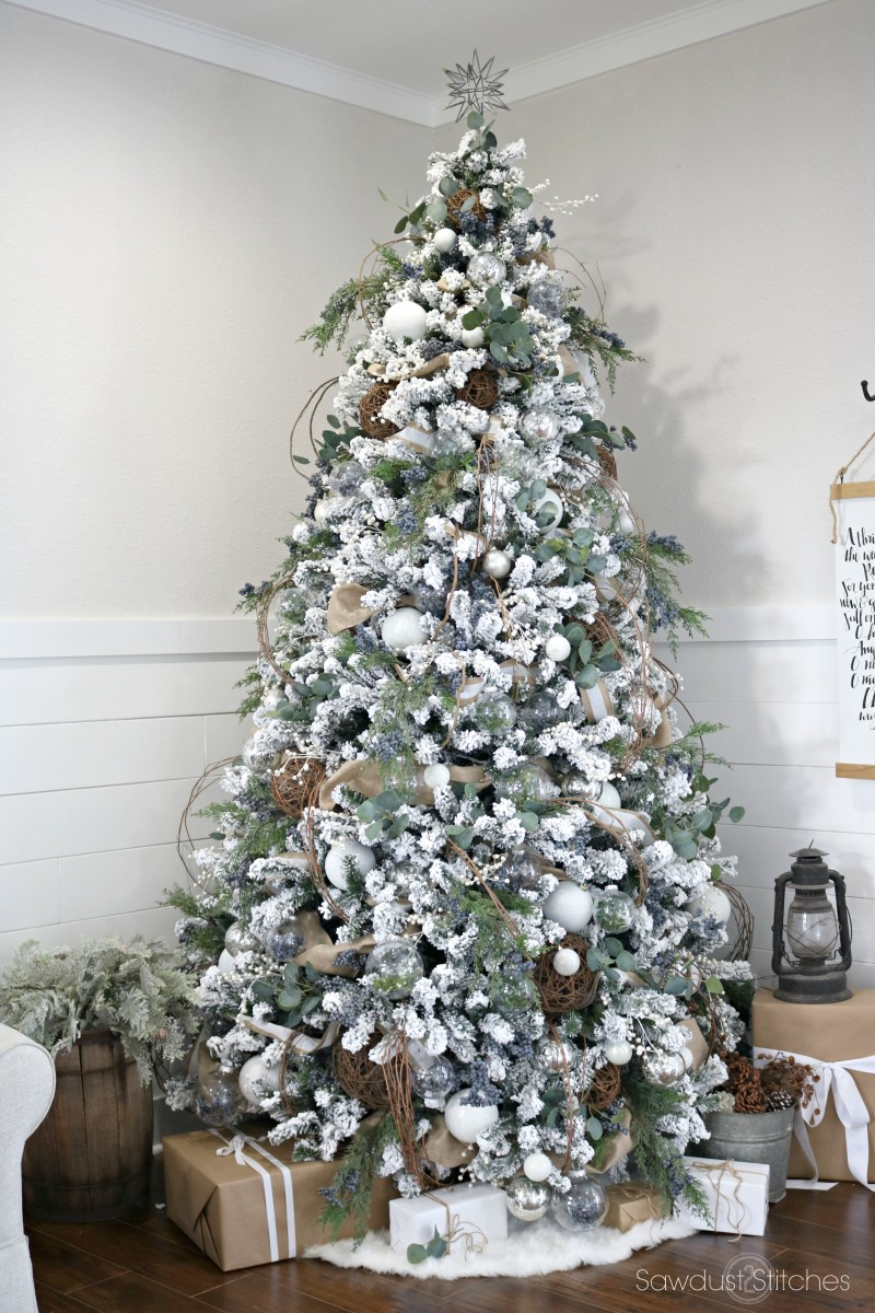 Hobby Lobby White Christmas Tree