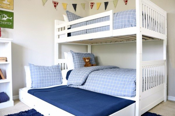Boys Bunk Bed Room Sawdust 2 Stitches