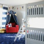 Boys' Bunk Bed Room