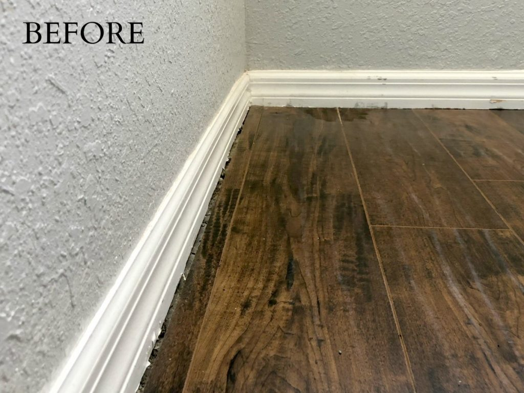 How To Update Baseboards Sawdust 2 Stitches