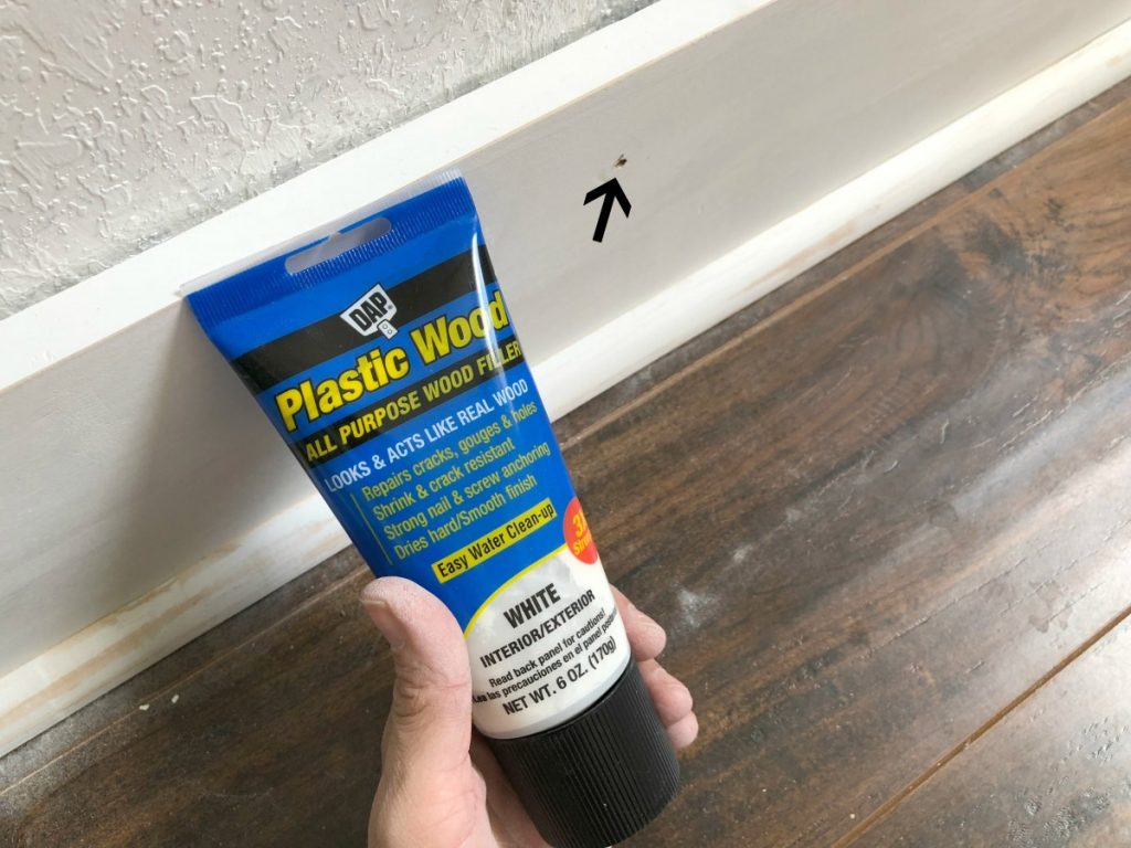 How to Update Baseboards - Sawdust 2 Stitches