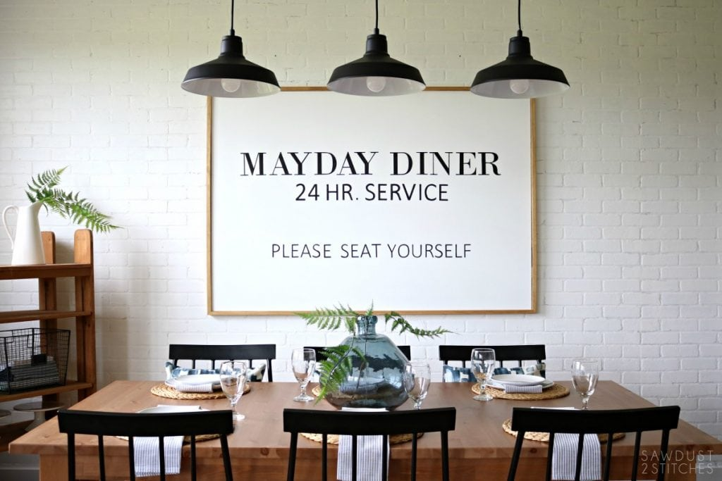 Outstanding Modern Farmhouse Dining Room Makeover Sawdust 2 Stitches Spiritservingveterans Wood Chair Design Ideas Spiritservingveteransorg