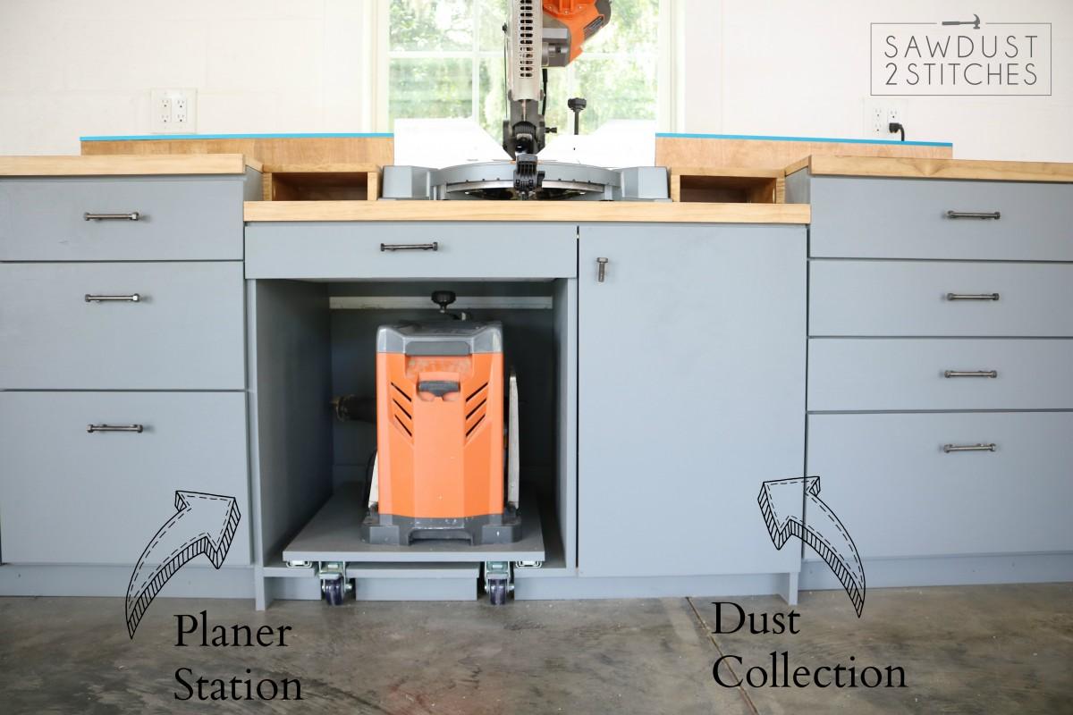 My Dream Workshop Cabinets Sawdust 2 Stitches