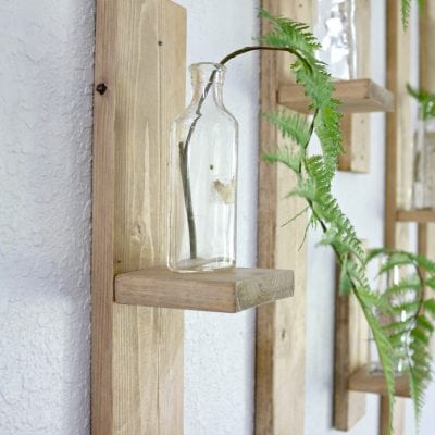Scrap Wood Wall Decor