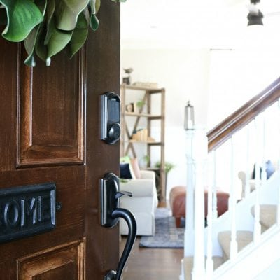 Front Porch Makeover with Schlage