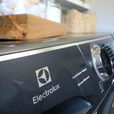 Laundry Room Makeover with Electrolux