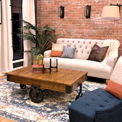 Historic Vintage Style Room