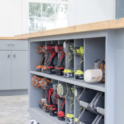 Workbench Storage Table