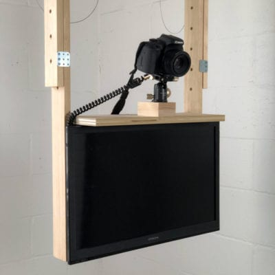 DIY Ceiling Camera Mount