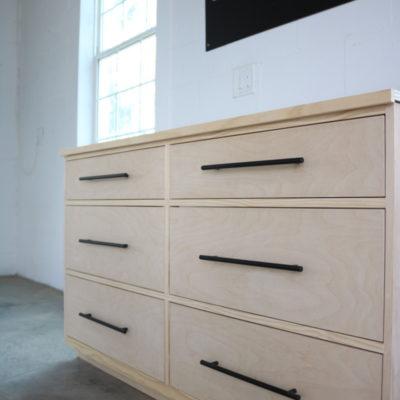 Built-In Dresser Closet