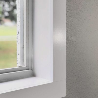 Casing a Window: An Easy Way to Cover the Jamb