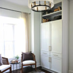 Convert a Cabinet Into a Built-In Armoire