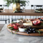 Lazy Susan Charcuterie Board